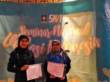 Dua Dosen Prodi Kebidanan Universitas Alma Ata menjadi Pemakalah dalam Seminar Nasional