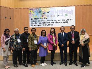 Rektor Universitas Alma Ata Bersama Delegasi Program Studi S1 Gizi menghadiri Conference for International Collaboration on Global Health Security in Southeast Asia