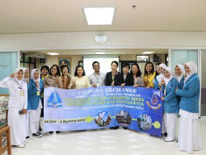 Mahasiswa Keperawatan Berkunjung ke BCNNV Thailand