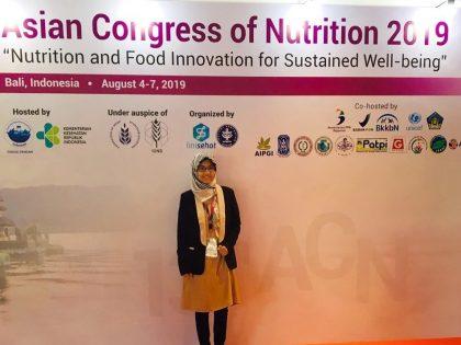 Dosen Gizi Upgrade Kepemimpinan dalam acara International Young Food and Nutrition Leadership Training and Workshop (iYoulead)