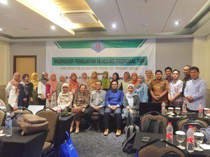 "Workshop Training of Trainer ""Penguatan Kualitas Proposal Program Kreativitas Mahasiswa (PKM)"