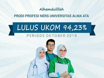 Alhamdulillah Peningkatan kelulusan Ujian Kompetensi 94,23 %
