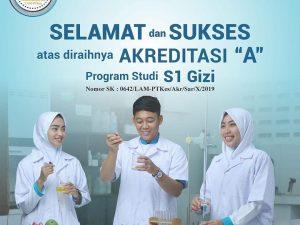 """Program Studi S1 Gizi Universitas Alma Ata satu satunya Prodi Gizi  Swasta di Indonesia yang Terakreditasi """"A"""""""