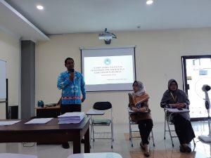 Kegiatan Item development dan item review uji kompetensi Regional VIII DIY di UAA