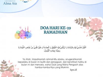Hari ke-29, Malam Ganjil Terakhir di Bulan Ramadhan1441H