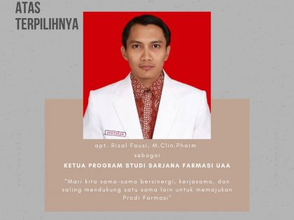 KETUA PROGRAM STUDI S1 FARMASI UAA
